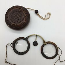 Antique Spectacles Chinese Antique Eyeglasses Antique Spectacle Case 19th C