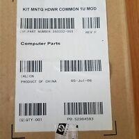 HP Proliant 1U Rackmount Kit Part No 360332-003, DL360, DL320, DL180