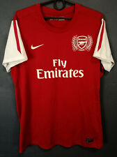 WOMEN'S  FEMALE NIKE FC ARSENAL 2011/2012 FOOTBALL SOCCER SHIRT JERSEY SIZE XL
