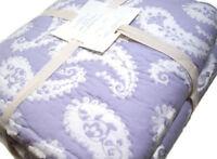 Pottery Barn Kids Multi Colors Purple Nora Paisley Twin Quilt Standard Sham New