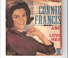 CONNIE FRANCIS - And I love her       ***Bra - Press***