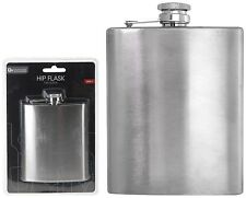 Stainless Steel Hip Flask Pocket Flask Alcohol Whiskey Brandy Liquor 7oz - 200ml
