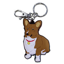 Cowboy Bebop Ein Spike's Corgi Dog PVC Key Chain Official Licensed GE Animation