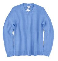 J Crew Factory - Womens S - NWT Periwinkle Blue Long Sleeve Cotton Crew Sweater