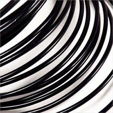 Filo in alluminio Spessore 2mm – 2 Metri Nero