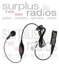 Motorola Headset OEM PMLN5733A XPR3300 XPR3500 Single Wire Earbud Headset PTT