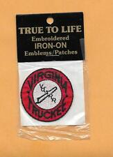 """VIRGINIA TRUCKEE  RAILROAD PATCH  2 """" TRUE TO LIFE IRON ON"""