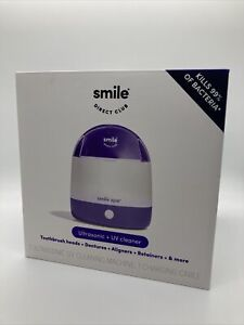 Smile Direct Club Ultrasonic + UV Cleaner Smile Spa New
