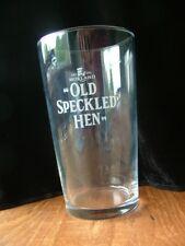 Morland Old Speckled Hen Pint glass Abingdon brewer BT060