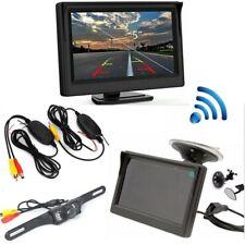 Wireless Car Rear View Kit + 5'' LCD Monitor + LED Night Vision Reversing Camera