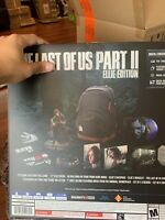 The Last of Us Part 2 II Ellie Limited Edition PlayStation for PS4 BRAND NEW