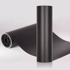 Matte Vinyl Wrap. BLACK. All Sizes. Bubble/Air Free // Matt Adhesive Car Film