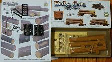 Kadee HO #101 Log Car Disconnected (Kit) w/Load5