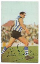 1966 Mobil VFL Footy Photos (36) Noel TEASDALE North Melbourne Excellent /: