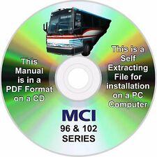 MCI BUS 102 A+B+C SERIES SERVICE CD MANUAL