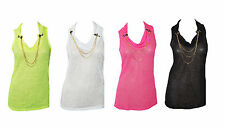 Polyester Cowl Neck Stretch Casual Tops & Shirts for Women