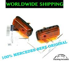 MERCEDES-BENZ G-CLASS W460 W461 SIDE MARKER LIGHTS INDICATORS PAIR GENUINE