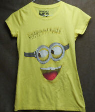 Despicable Me 2 Girls yellow top size Small