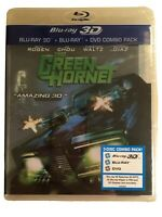 The Green Hornet Blu-Ray 3D, DVD - 3 Disc Combo - Brand New Sealed!