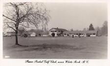 Photo. ca 1949. White Rock, B. C Canada. Peace Portal Golf Club