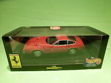 HOTWHEELS 21353  FERRARI 365 GTB/4 1968 - 1:18 - RARE SELTEN - NEAR MINT IN BOX