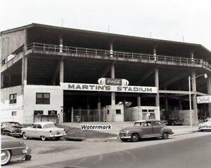 NAL 1950's Nergo American League Martin's Stadium Memphis Red Sox 8 X 10 Photo