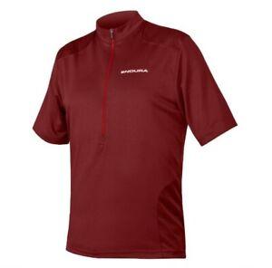 Endura Mens Hummvee Short Sleeve Jersey Cocoa Size M