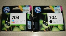 HP 704 Combo-pack Black/Tri-color Original Ink Advantage Cartridges