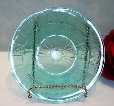 Doric and Pansy Ultramarine Bread and Butter Plate Depression Glass by Jeannette