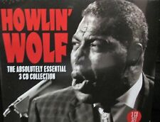 HOWLIN WOLF, Essential 3 CD box collection ,60 TRACKS ,Original Recordings