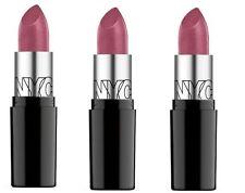 LOT OF 3 - NYC New York City Ultra Moist Lip Wear Lipstick 319, Violet Shine