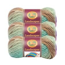 Lion Brand Yarn 545-208 Landscapes Yarn, Cabana (Pack of 3 skeins)