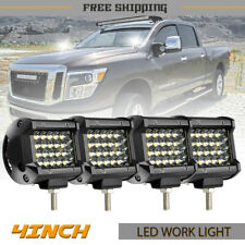 4PCS 4inch LED Fog Light Spot offroad Driving For SUV Truck JEEP 4WD ZM6