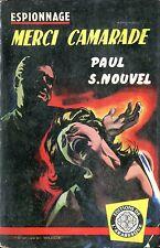 Arabesque Espionnage 100 - Paul S. Nouvel - Merci camarade- EO 1959- Jef de Wulf