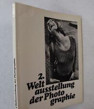 Camera Art Photographs Women World Exhibition Photography Illus German Text 1968