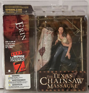 Erin-The Texas Chainsaw Massacre-Movie Maniacs -ca. 14 CM H-Neu & Orig.