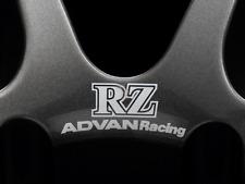 ADVAN RACING RZ WHITE DECAL STICKER #AR006