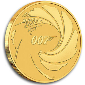 Goldmünze James Bond 007 2020 Tuvalu 1 oz in Stempelglanz