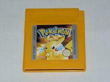 Game Boy: Pokemon Edición Amarilla (cartucho, versión ESP,  pila nueva)