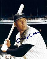 MICKEY MANTLE  (N Y YANKEES) YOU GET BOTH PHOTOS  - 5x7  SIGNED  PHOTO REPRINTS