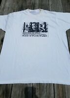Vintage Mutilation Graphics Women of the SS Industrial T-shirt Screen Stars 80s