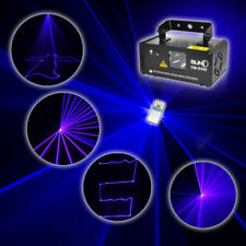 SUNY Remote DMX 450mW BLUE Laser Scan Stage Lighting DJ Party Show Light Music