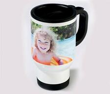 Environmentally Polymer Travel Mug Personalised With Your Own Image Or Design
