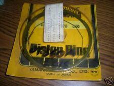 NOS 1974 Yamaha DT360 .50 Piston Rings 445-11610-20