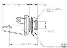 "5 Pieces Switchcraft 1/4"" Mono Input Jack #11"