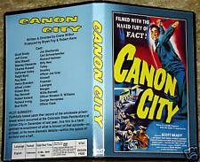 CANON CITY - DVD - Scott Brady, Jeff Corey,Whit Bissell