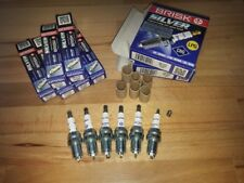 6x Bmw 330 3.0i E46 y2000-2007 = Brisk YS Silver Electrode Upgrade Spark Plugs