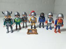 7 Playmobil Knights figure Bundle