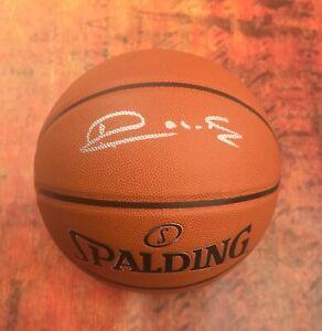 GFA Sacramento Kings HOF VLADE DIVAC Signed Autographed Basketball COA