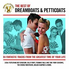 Various Artists The Best of Dreamboats and Petticoats 3 X CD 2014 &